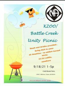 Kzoo/Battle Creek Unity Picnic @ Coldbrook Park   Climax   Michigan   United States