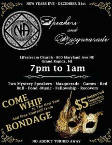 New Years Eve Speaker & Masquerade @ Lifestream Free Methodist Church | Grand Rapids | Michigan | United States