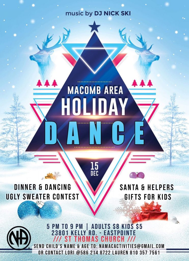 Holiday Dance @ St. Thomas Church | Eastpointe | Michigan | United States