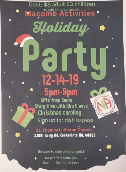 Holiday Party @ St Thomas Lutheran Church | Eastpointe | Michigan | United States