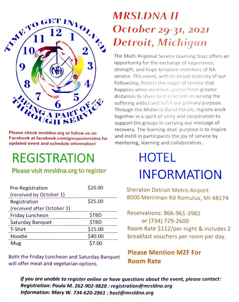 MRSLDNA 2 @ Sheraton Detroit Metro Airport | Romulus | Michigan | United States