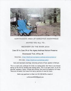 Northwoods: Recovery On the River 2018 @ Agnes Andreae Nature Preserve | Bridgeton | Missouri | United States