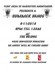 Flint Area Presents a SUMMER DANCE @ The Bridge | Flint | Michigan | United States