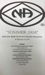 "Battle Creek Area Presents:  ""Summer Jam""  RIVER FLOAT @ Historic Bridge Park | Emmett charter Township | Michigan | United States"