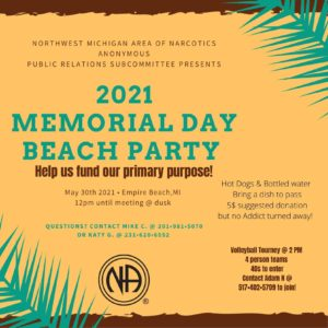 Memorial Day Beach Party! @ Empire Beach | Empire | Michigan | United States