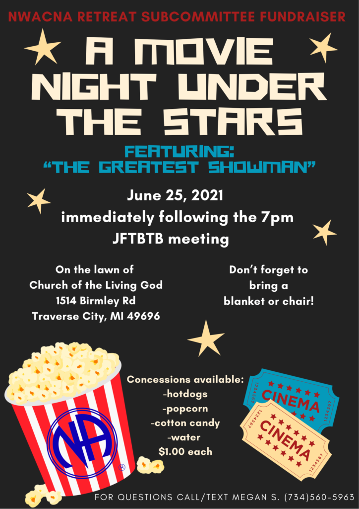 A Movie Night Under the Stars @ Church of the Living God | Traverse City | Michigan | United States