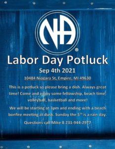Labor Day 2021 Annual Potluck @ Empire Beach Pavillion   Empire   Michigan   United States