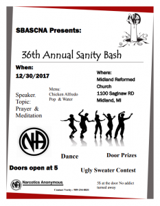 Sanity Bash @ Midland Reformed Church  | Midland | Michigan | United States