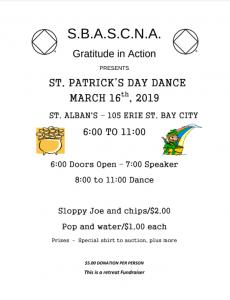 St. Patrick's Day Dance @ St. Albans
