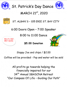 St. Patrick's Dance @ St. Alban's | Bay City | Michigan | United States