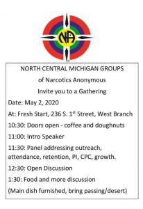 North Central Michigan Gathering @ Fresh Start | West Branch | Michigan | United States