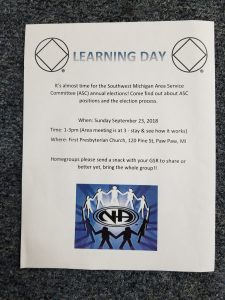 Learning Day @ First Presbyterian Church | Paw Paw | Michigan | United States