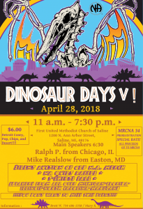Dinosaur Days V @ First United Methodist Church of Saline | Saline | Michigan | United States