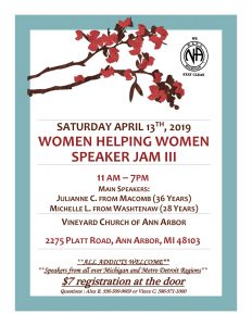 Women Helping Women: Speaker Jam III @ Vineyard Church of Ann Arbor