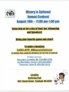 Misery is Optional - Annual Cookout @ North Bay Park