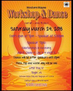 Western Wayne Workshop & Dance @ Taylor | Michigan | United States