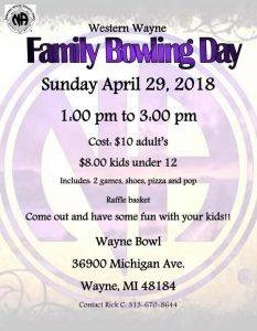 Family Bowling Day @ Wayne Bowl | Wayne | Michigan | United States