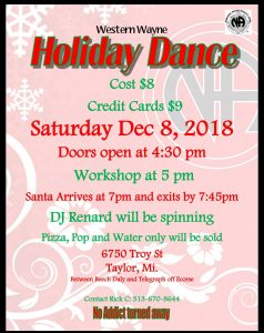 Holiday Dance @ Taylor | Michigan | United States