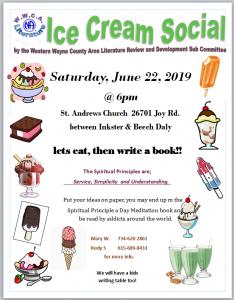 Ice Cream Social @ St Andrew's Church
