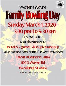 Family Bowling Day @ Town and Country Lanes | Westland | Michigan | United States