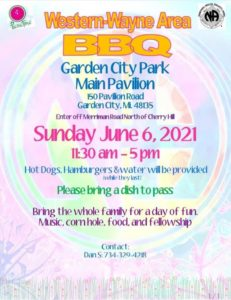 WWCA June BBQ @ Garden City Park Main Pavilion | Garden City | Michigan | United States