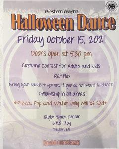 Halloween Dance @ Taylor Senior Center